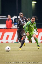 Sounders-Whitecaps: Mauro Rosales and Gershon Koffie