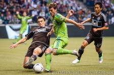Sounders-Whitecaps: Alain Rochat and Brad Evans