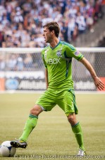 Sounders-Whitecaps: Brad Evans