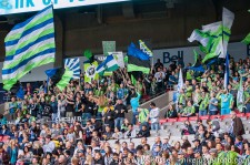 Sounders-Whitecaps: ECS, Gorilla FC, Northend Faithful