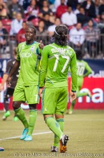 Sounders-Whitecaps: Eddie Johnson and Fredy Montero