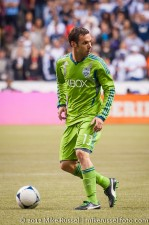 Sounders-Whitecaps: Christian Tiffert