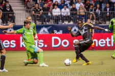 Sounders-Whitecaps: Jeff Parke and Gershon Koffie