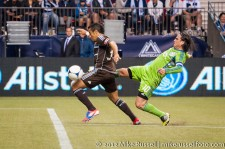 Sounders-Whitecaps: Camilo and Mauro Rosales
