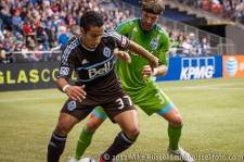 Sounders-Whitecaps: Camilo and Jeff Parke