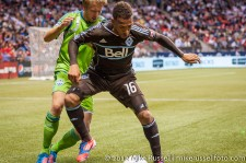Sounders-Whitecaps: Matt Watson and Adam Johansson