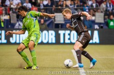 Sounders-Whitecaps: Leo Gonzalez and Barry Robson