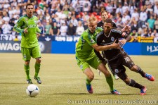 Sounders-Whitecaps: Andy Rose and Matt Watson