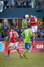 Sounders-Timbers: Eddie Johnson, Mamadou Danso, and David Horst