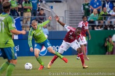 Sounders-Timbers: Osvaldo Alonso and Darlington Nagbe