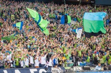 Sounders-Timbers: Celebrating Danso's own goal