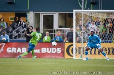 Sounders-Timbers: Eddie Johnson scores