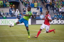 Sounders-Timbers: Jhon Kennedy Hurtado and Darlington Nagbe