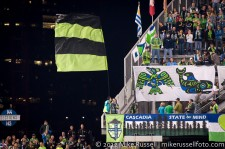 Sounders-Timbers: North End Faithful