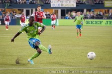 Sounders-Timbers: Eddie Johnson
