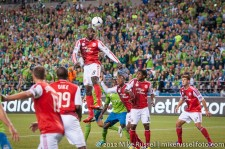 Sounders-Timbers: Futty Danso