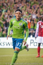 Sounders-Timbers: Fredy Montero scores the Sounders 3rd goal