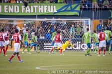 Sounders-Timbers: Michael Gspurning with a vital save