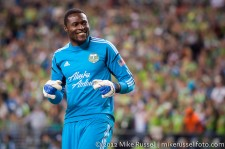 Sounders-Timbers: Donovan Ricketts having some fun with ECS