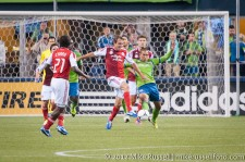 Sounders-Timbers: Eric Alexander and David Estrada