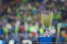 MLS Playoffs - Sounders v LA: The Silverware