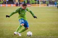 MLS Playoffs - Sounders v LA: Christian Tiffert