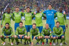 MLS Playoffs - Sounders v LA: Sounders Starting 11