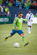 MLS Playoffs - Sounders v LA: Mauro Rosales