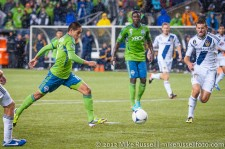 MLS Playoffs - Sounders v LA: David Estrada gets a late chance