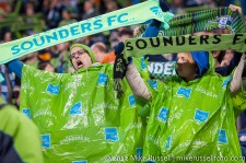 MLS Playoffs Sounders-RSL: Ready for rain