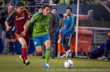 MLS Playoffs Sounders-RSL: Marc Burch