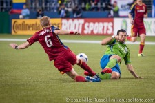 MLS Playoffs Sounders-RSL: Sammy Ochoa