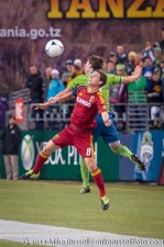 MLS Playoffs Sounders-RSL: Will Johnson and Brad Evans
