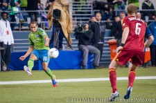 MLS Playoffs Sounders-RSL: David Estrada