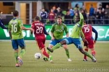 MLS Playoffs Sounders-RSL: Jhon Kennedy Hurtado
