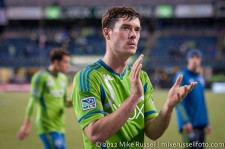 MLS Playoffs Sounders-RSL: Brad Evans