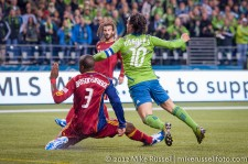 MLS Playoffs Sounders-RSL: Mauro Rosales