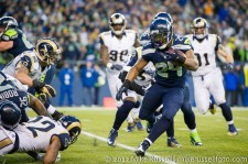 NFL Football: St. Louis Rams vs Seattle Seahawks - Dec. 30, 2012