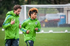 Sounders Preseason (Feb 9, 2013): Andrew Duran and DeAndre Yedlin