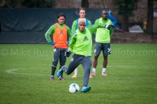 Sounders Preseason (Feb 9, 2013): Travis Bowen, Mauro Rosales, Jennings Rex, Jhon Kennedy Hurtado
