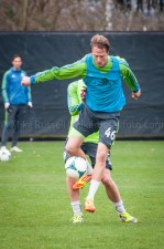 Sounders Preseason (Feb 9, 2013): Jennings Rex