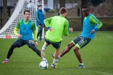 Sounders Preseason (Feb 9, 2013): Zach Scott, Dylan Remick, and Steve Zakuani