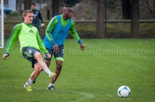 Sounders Preseason (Feb 9, 2013): Dylan Remick and Steve Zakuani