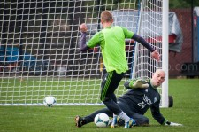 Sounders Preseason (Feb 9, 2013): Marcus Hahnemman and Andy Rose