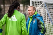 Sounders Preseason (Feb 9, 2013): Shalrie Joseph and Chris Henderson