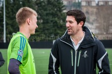 Sounders Preseason (Feb 9, 2013): Andy Rose and Ross Fletcher