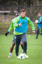 Sounders Preseason (Feb 9, 2013): Sammy Ochoa