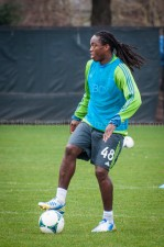Sounders Preseason (Feb 9, 2013): Shalrie Joseph