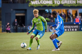 Seattle Sounders vs. Montreal Impact, March 2, 2013. (Photo by Mike Russell)