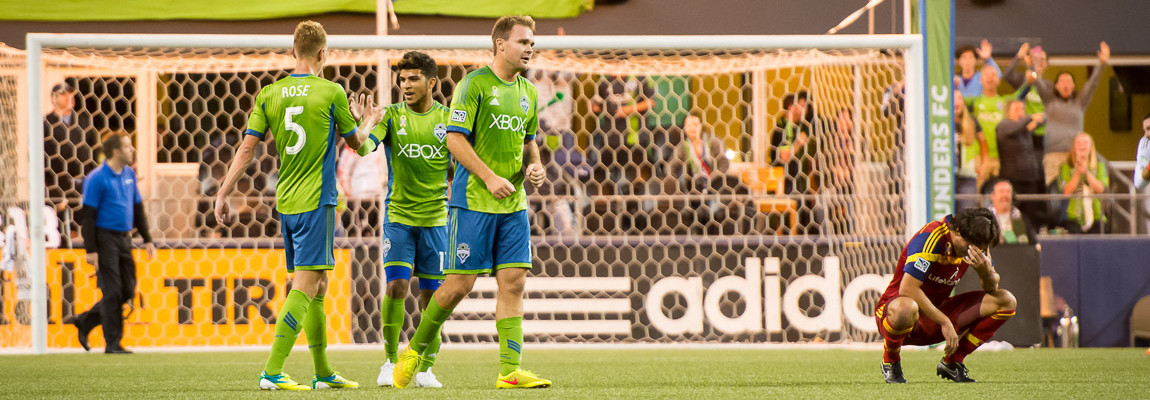 Sounders Beat Salt Lake in Stoppage Time